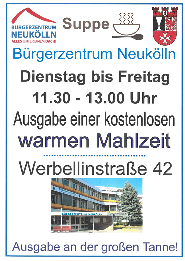 2021jan essensausgabe buergerzentrum